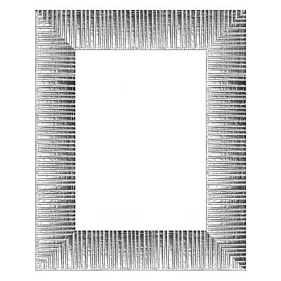 Cornice Soho argento 13 x 18 cm