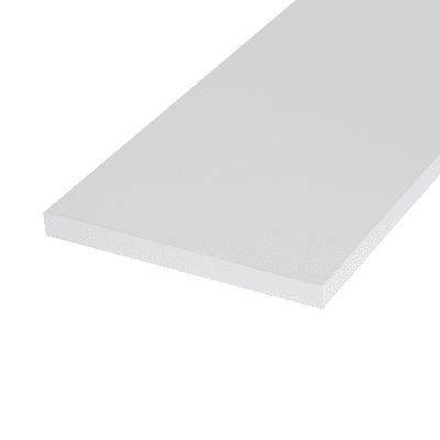 Pannello melaminico bianco 18 x 200 x 1200 mm
