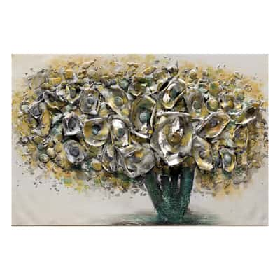 quadro dipinto a mano Fiori Gialli 60x90