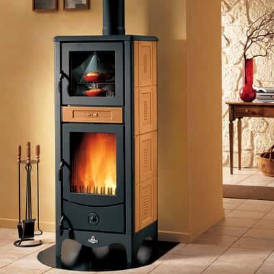 Stufa a legna con forno Sara terra oriente prezzi e offerte online ...