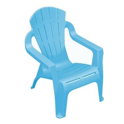 Sedia bimbi impilabile Mini selva azzurro