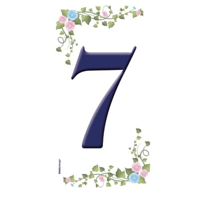 Numero edera 7 prezzi e offerte online leroy merlin for Numeri adesivi leroy merlin