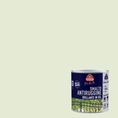 Smalto per ferro antiruggine Boero bianco ghiaccio brillante 0,5 L