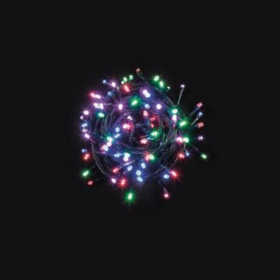 Catena luminosa 480 minilucciole Led multicolore 37 m