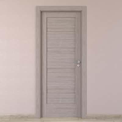 Porta da interno battente Capena 1 sabbia 80 x H 210 cm sx