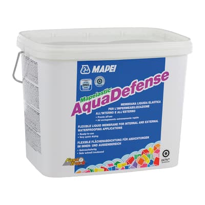 Membrana impermeabilizzante Mapelastic aquadefense Mapei 7,5 kg