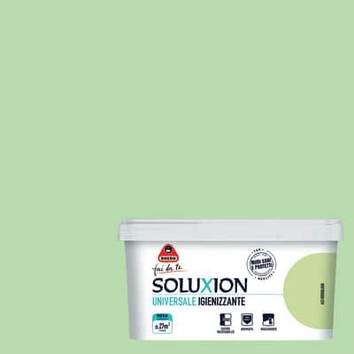 Idropittura  igienizzante antimuffa Soluxion verdelago 2,5 L Boero
