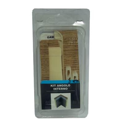 Angolare interno in kit kit angolo interno battiscopa 7011 rovere spazzolato 5 x Sp 20 mm