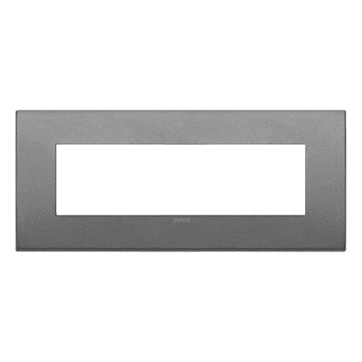 Placca VIMAR Arké 7 moduli ardesia matt