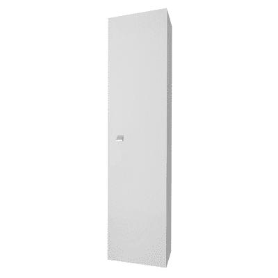 Colonna GINEVRA 1 L 31.5 x P 15.5 x H 136 cm grigio laccato