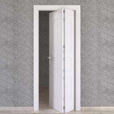 Porta pieghevole Alioth bianco L 80 x H 210 cm destra