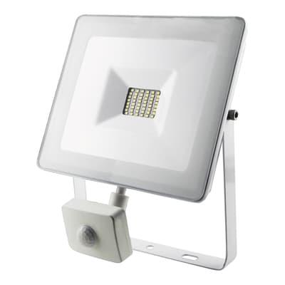 Proiettore LED integrato Sensor in alluminio, bianco, 30W 2400LM IP44