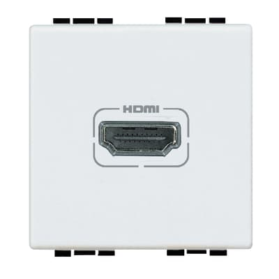 Connettore hdmi BTICINO Living light bianco