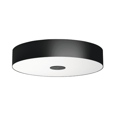 Plafoniera Fair Hue nero, in metallo, diam. 44.4, LED integrato 39W 3000LM IP20 PHILIPS HUE