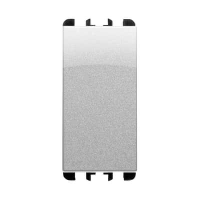 Pulsante SIMON URMET Nea 10 A alluminio