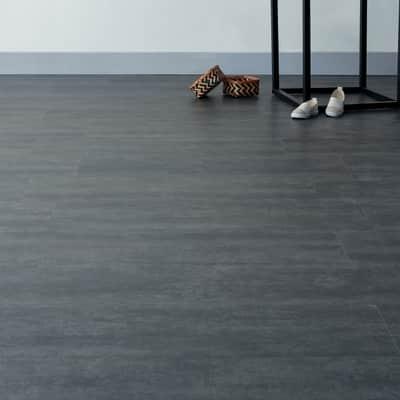 Pavimento pvc flottante clic+ Argent Sp 5 mm grigio / argento