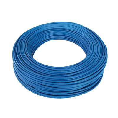 Cavo elettrico BALDASSARI CAVI 1 filo x 4 mm² Matassa 100 m blu