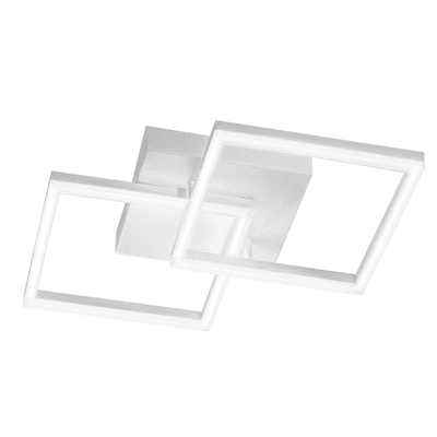 Plafoniera moderno Skyline LED integrato bianco, in metallo, 45x45 cm,