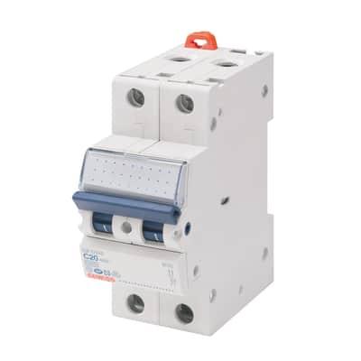 Interruttore magnetotermico GEWISS GEWGW92126 1P+N 10A 4.5kA C 2 moduli230V