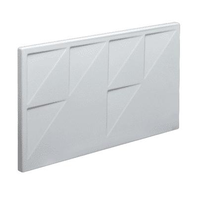 Pannello di rivestimento vasca Egeria acrilico bianco L 60 x H 33 cm