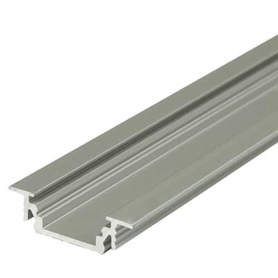 profilo per strisce led in alluminio grigio argento 2