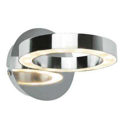 Applique moderno Circey LED integrato , in metallo,  D. 12 cm INSPIRE