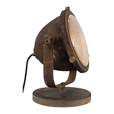 Lampada da tavolo Carmen bronzo, in metallo, E27 MAX 40W IP20 BRILLIANT