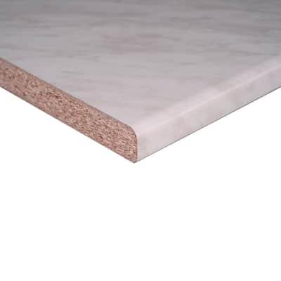 Piano di lavoro marmo carrara L 246 x P 60 cm, spessore 2.8 cm