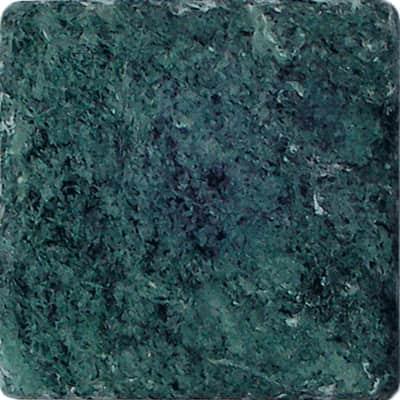 Pietra irregolare Marmo Alpi 10 x 10 cm verde