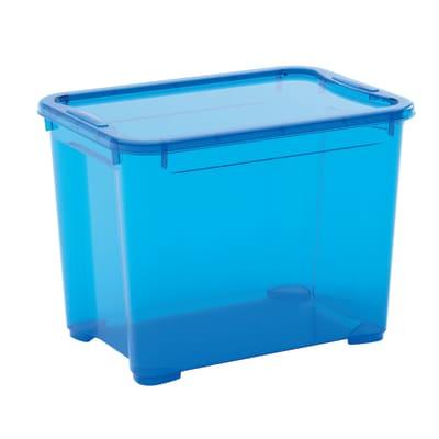 Contenitore T-box L 38 x H 28.5 x P 26.5 cm azzurro