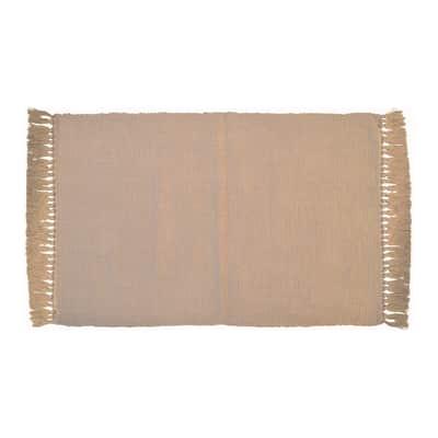 Tappeto Basic beige 80x50 cm