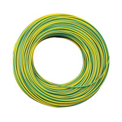 Cavo elettrico LEXMAN 1 filo x 2,5 mm² Matassa 25 m giallo/verde