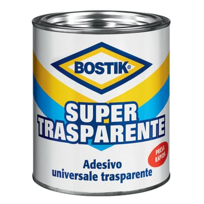 Colla a contatto per multisupporto BOSTIK Supertrasparente 750 g
