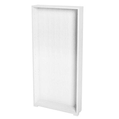 Struttura Spaceo L 60 x H 128 x P 15 cm bianco