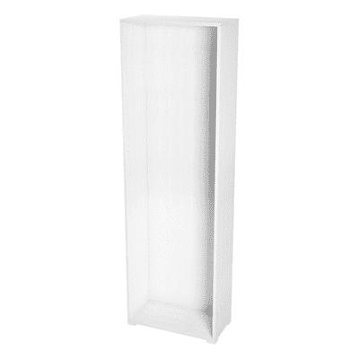 Struttura Spaceo L 60 x H 192 x P 30 cm bianco