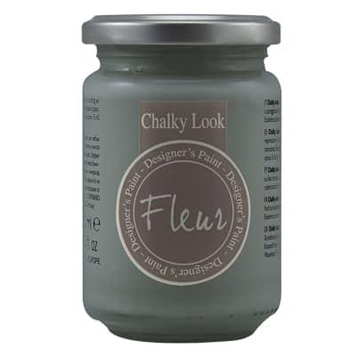 Colore acrilico FLEUR Smoky 0.33 L grigio opaco