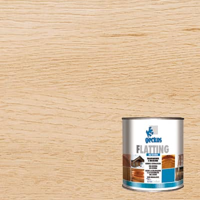 Flatting liquido Finitura per legno all'acqua 2.5 L incolore lucido
