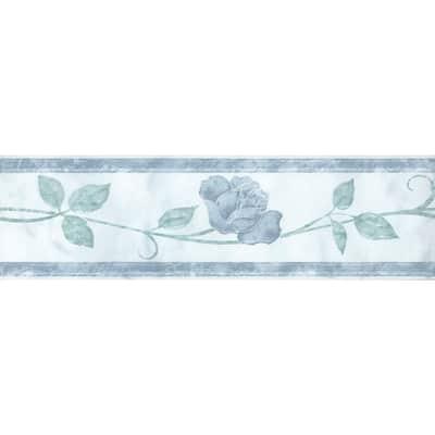 Listello Marmor L 25 x H 8 cm azzurro