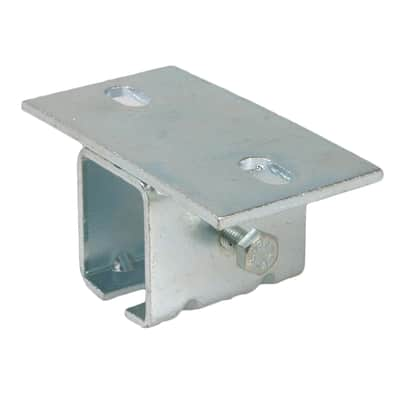 Supporto a soffitto per monorotaie in acciaio L 5.5 x H 2.5 cm