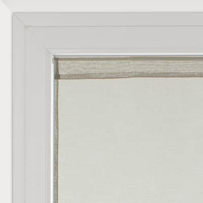 Tendina vetro Leo grigio pepe tunnel 70 x 210 cm