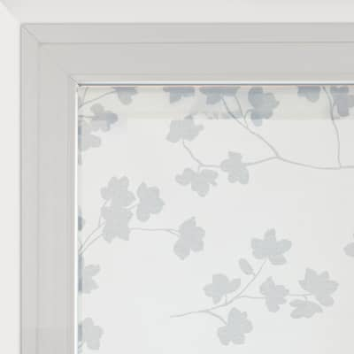 Tendina vetro Lilly panna tunnel 45x150 cm