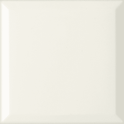Listello Victirian diamante L 7.5 x H 7.5 cm bianco