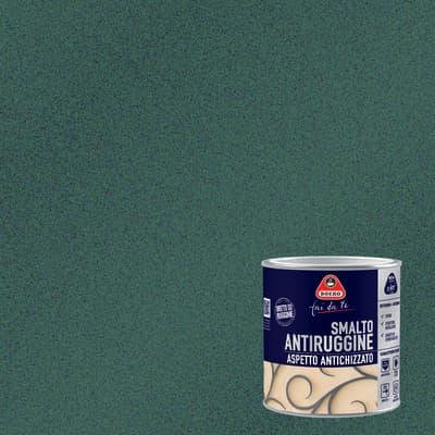 Smalto antiruggine BOERO FAI DA TE nero grana grossa 0.5 L