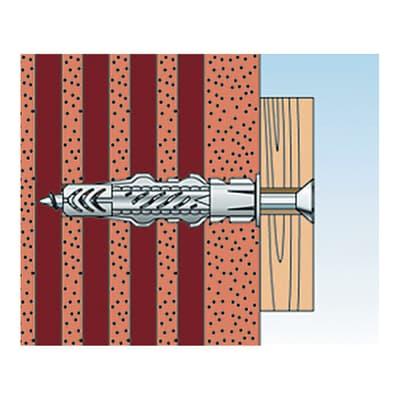 Tassello universale FISCHER UX L 30 mm x Ø 10 mm 15 pezzi