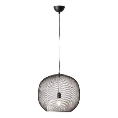 Lampadario Ashley bianco, in metallo, diam. 40 cm, E27 MAX60W IP20 BRILLIANT