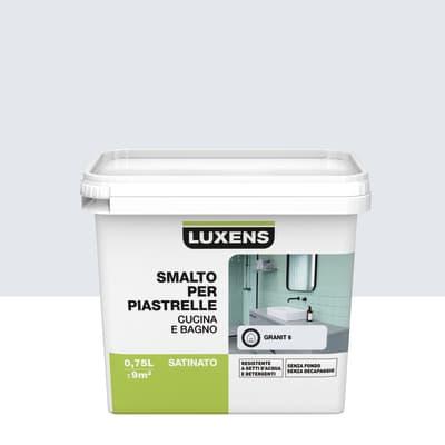 Smalto per piastrelle LUXENS 0.75 l bianco granit 6