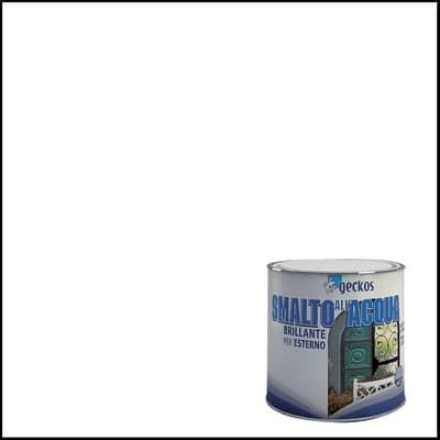 Smalto GECKOS base acqua bianco 2.5 L