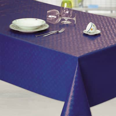 Tovaglia blu 120x220 cm