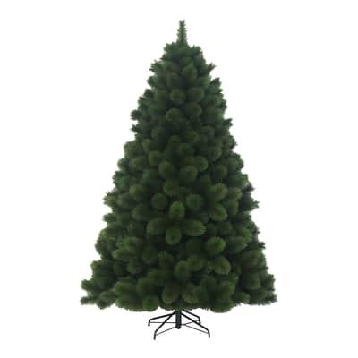 Albero di natale artificiale Montgomery verde H 240 cm