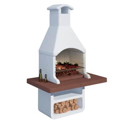 Barbecue in cemento refrattario LINEA VZ Siviglia L 150 x P 90 x H 237 cm